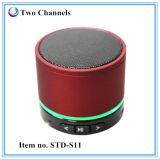 Mini altavoz sin hilos S11 de Bluetooth 3.0 con la ranura para tarjeta del Mic SD