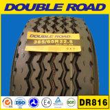 La tapa califica todo el acero de la estrella doble Dsr588 385/65r22.5 (315 80 22.5) del neumático del carro del neumático 22.5 del camino