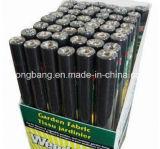 Barrera negra plástica de la estera del control de Weed del polipropileno