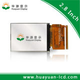 2.8 16:9 tamaño pequeño de la visualización del LCD de la pulgada