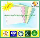 papier autocopiant vert de 52g CFB