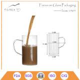 300ml borran la taza del vidrio de consumición con la maneta