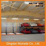 Stationnement sec simple de garage de matériel
