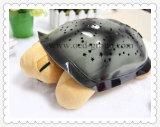 Lámpara caliente de la tortuga de la noche de la música para la luz de la tortuga del sueño LED del bebé de China