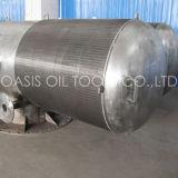 Filtro de tela da entrada de Pasive da dessanilização da água do tamanho da fábrica grande