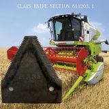 Claasの収穫機の刃で使用される