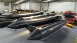 Barca gonfiabile di alluminio del guscio 5.3m, barca della nervatura, peschereccio, PVC o barca Rib520A di sport di Hypalon