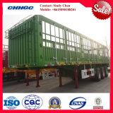 40 ton 3 De Aanhangwagen van de Vrachtwagen van de Staak van de Asbus/de Aanhangwagen van de Lading