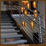Feste Aluminiumbalustrade für Treppenhaus-Treppen-Geländer (SJ-798)