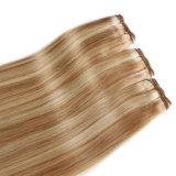 Originea TM 3 manojos del pelo indio de la Virgen de la onda Weft de la carrocería con extensiones del pelo ondulado de la armadura de Ombre del pelo humano del encierro 7A con el encierro