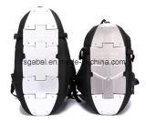 1680d Waterproof o saco da trouxa do capacete com painéis dos alumínios