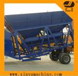 Planta de tratamento por lotes concreta móvel 60 M³ /H (YHZS60)