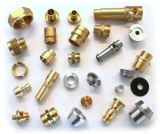 Pezzi meccanici di giro di CNC con rame & ottone