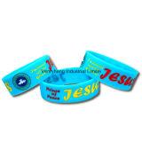 Bracelet fait sur commande promotionnel bon marché de silicones de logo