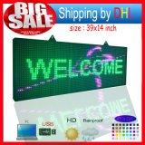 Panneau de LED extérieur avec affichage du message de défilement / P10 Écran d'affichage à LED couleur pleine couleur