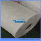 Tissu de fibres de verre du couvre-tapis piqué par fibre de verre 450g d'E-Glace