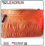 Sacchetto di acquisto non tessuto della mano della tela di canapa del cotone del cuoio del sacchetto di acquisto dello zaino (X0748)