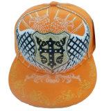 Gorra de béisbol caliente del Snapback de la venta con la insignia levantada Gjfp17172