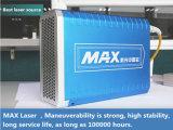 Машина маркировки лазера волокна Китая самая дешевая для имени логоса металла, для Я-Пусковой площадки, на iPhone/Apple