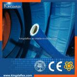 Tubo flessibile di gomma blu standard del commestibile del coperchio della FDA (150psi/10bar)