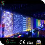 Mehrfarben-LED-Eiszapfen-Licht für Weihnachtsim freiendekoration