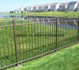 Reti fisse del giardino del ferro saldato con il cancello