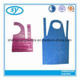 プラスチックエプロンを調理する使い捨て可能なPE