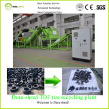 per capacità elevata di vendita per 8 tonnellate di chip di gomma all'ora che ricicla macchina