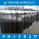 Cylindre d'oxygène à soudure industrielle en acier sans soudure (EN ISO9809-1)