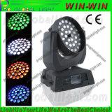 DMX512 RGBWの洗浄LED移動ヘッドWashled