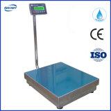 Escala 300 kg Plataforma electrónico impermeable