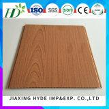 Panneaux de mur stratifiés par couleur en bois de PVC de panneau de PVC
