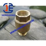 Válvula de verificação de bronze da linha do elevador industrial de API/DIN