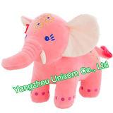 Peluche avec l'éléphant pourpré de jouet de peluche de robe de danse