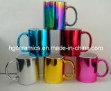 Tazze metalliche di colore, tazza metallica di rivestimento