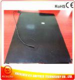 calefator da borracha de silicone do preto do calefator da impressora 3D de 600*850*1.5mm