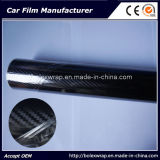 Высоким лоснистым используемый автомобилем винил волокна углерода 5D, пленка волокна углерода 5D