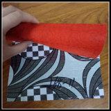 Pavimentazione non tessuta di legno del PVC di colore
