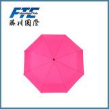 De Gift van de bevordering en Paraplu van het Zonnescherm Rain& van de Reclame de Vouwbare