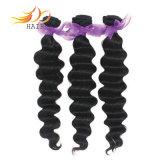 Estensione indiana naturale 100% dei capelli dei capelli umani di Remy del Virgin