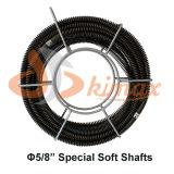 """65 ' cabo secional da limpeza do dreno da tubulação de X 5/8 """" cabem o cabo de Ridgid C8"""