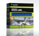 """Dock&Anchor/Nylonロープのための3/4の"""" X 15 'のF21ドックラインロープ"""