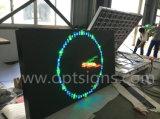 En12966 im Freien farbenreicher RGB Schlussteil eingehangene LED-Bildschirmanzeigen