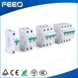Фотовольтайческий переключатель рельса MCB низкого напряжения тока 3p 25A 220V DIN DC PV