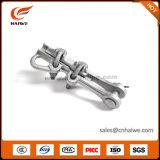 Gerade Belastungs-Schelle-Aluminium