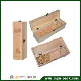 Buen vino de la caja de madera grande de calidad Almacenamiento