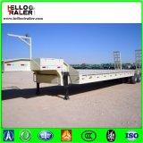 30ton lage Flatbed Semi Aanhangwagen voor Verkoop