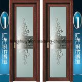 Portelli di alluminio della stanza da bagno della stoffa per tendine di vetro glassato per la decorazione interna