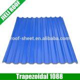 Fácil instalar la hoja larga del material para techos del palmo de UPVC