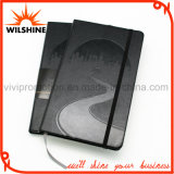 PU Leather Moleskine Diary Notebook com logotipo Debossed (PUN403)